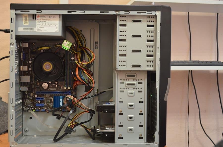 Что находится внутри компьютера